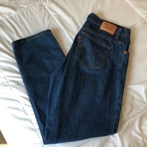 Levi 550 Relaxed Tapered Mom Jeans. Size 12